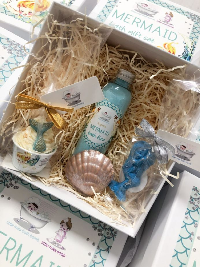 Mermaid Bath Gift Set